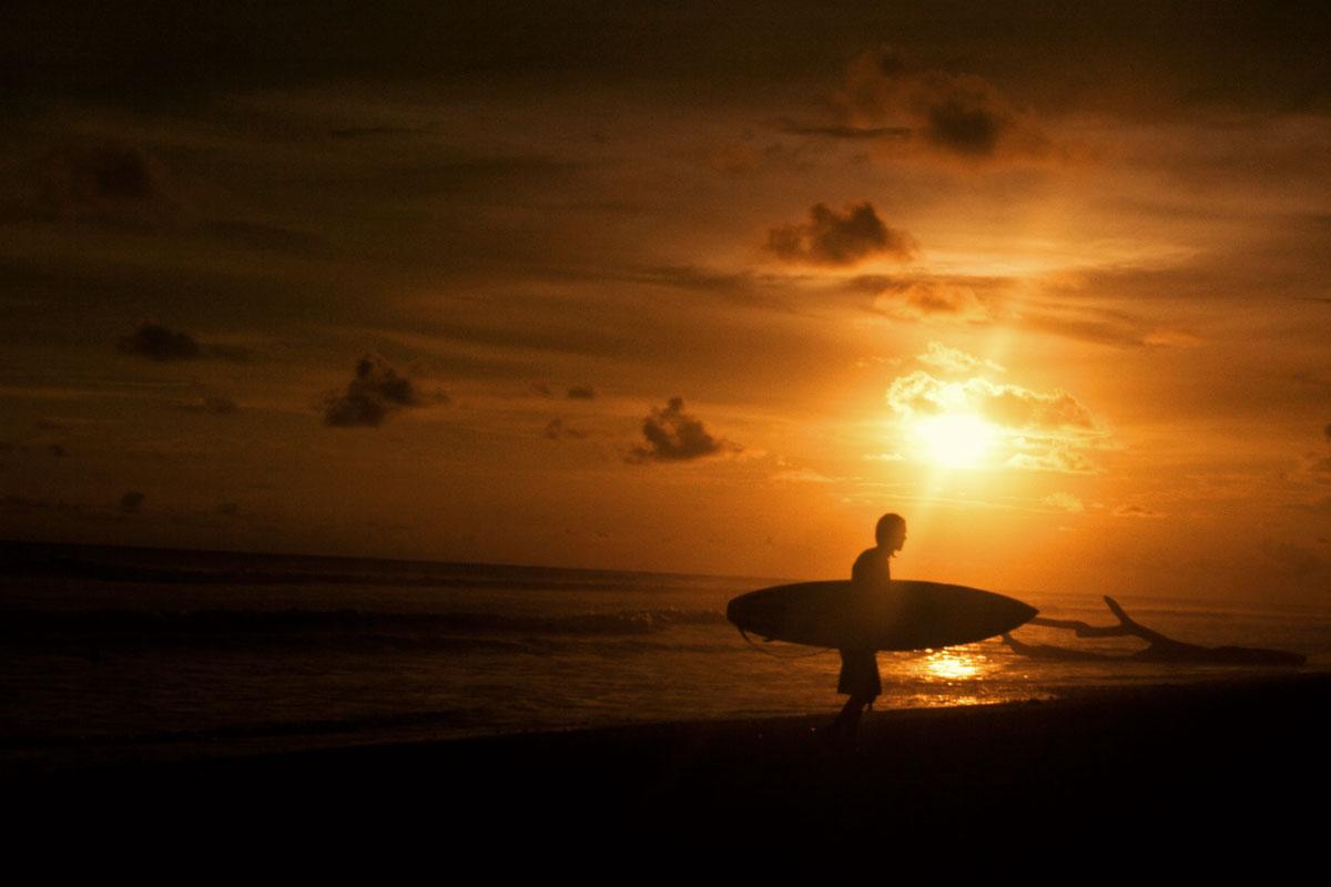 Bocas del Toro Surfer