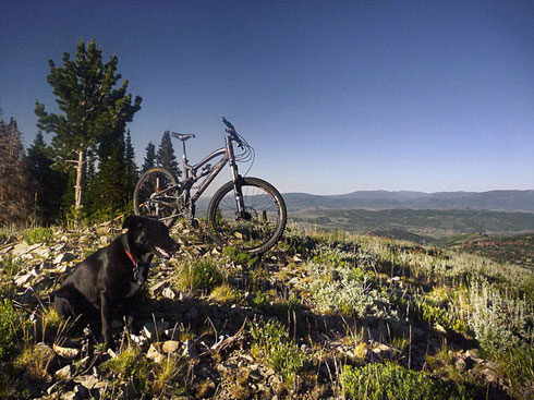 Lady Morgain - Park City Mountain Biking