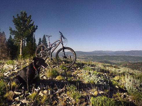 Lady Morgain - Park City Mountain Biking