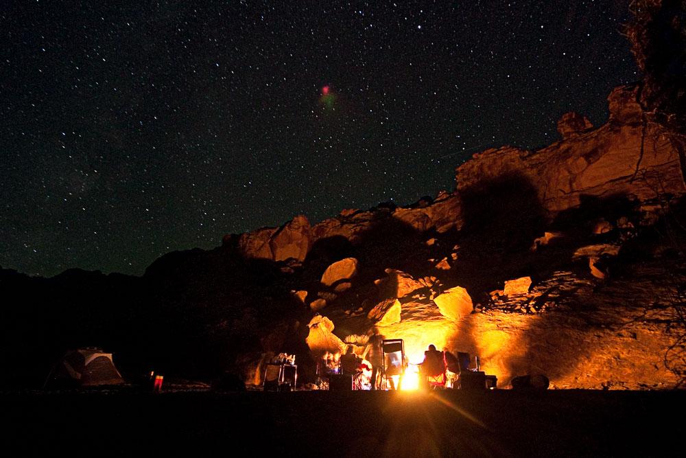 Goblin Valley, Utah Camp Site