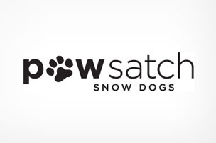 Pawsatch Snow Dogs Park City Logo