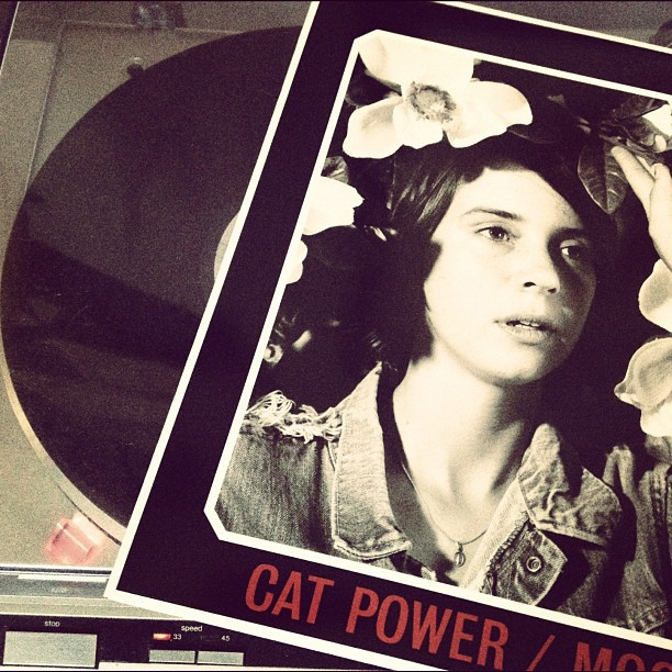 Cat Power on the hi-fi tonight.