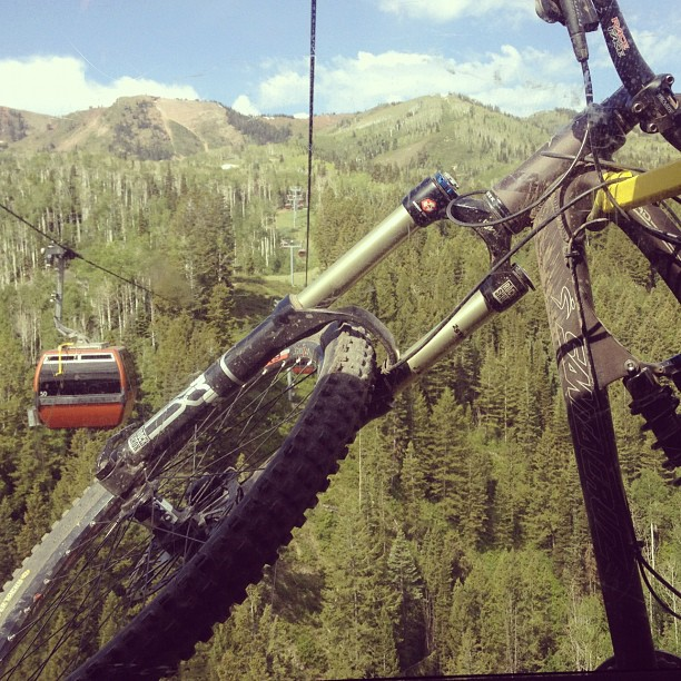 Anticipation @canyonsresort @canyonsbikepark