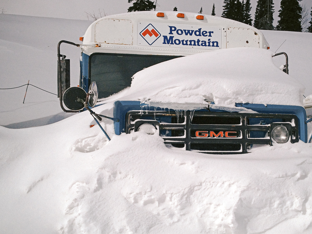 Powder Mountain Powder Country Bus