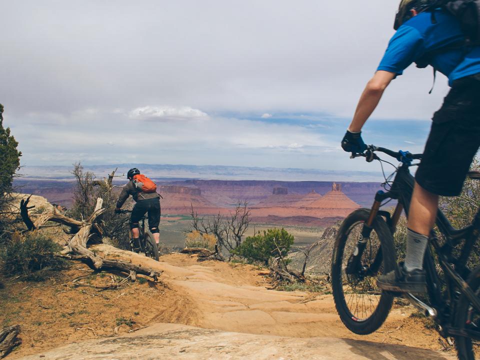 Porcupine Rim Trail, Moab, Utah