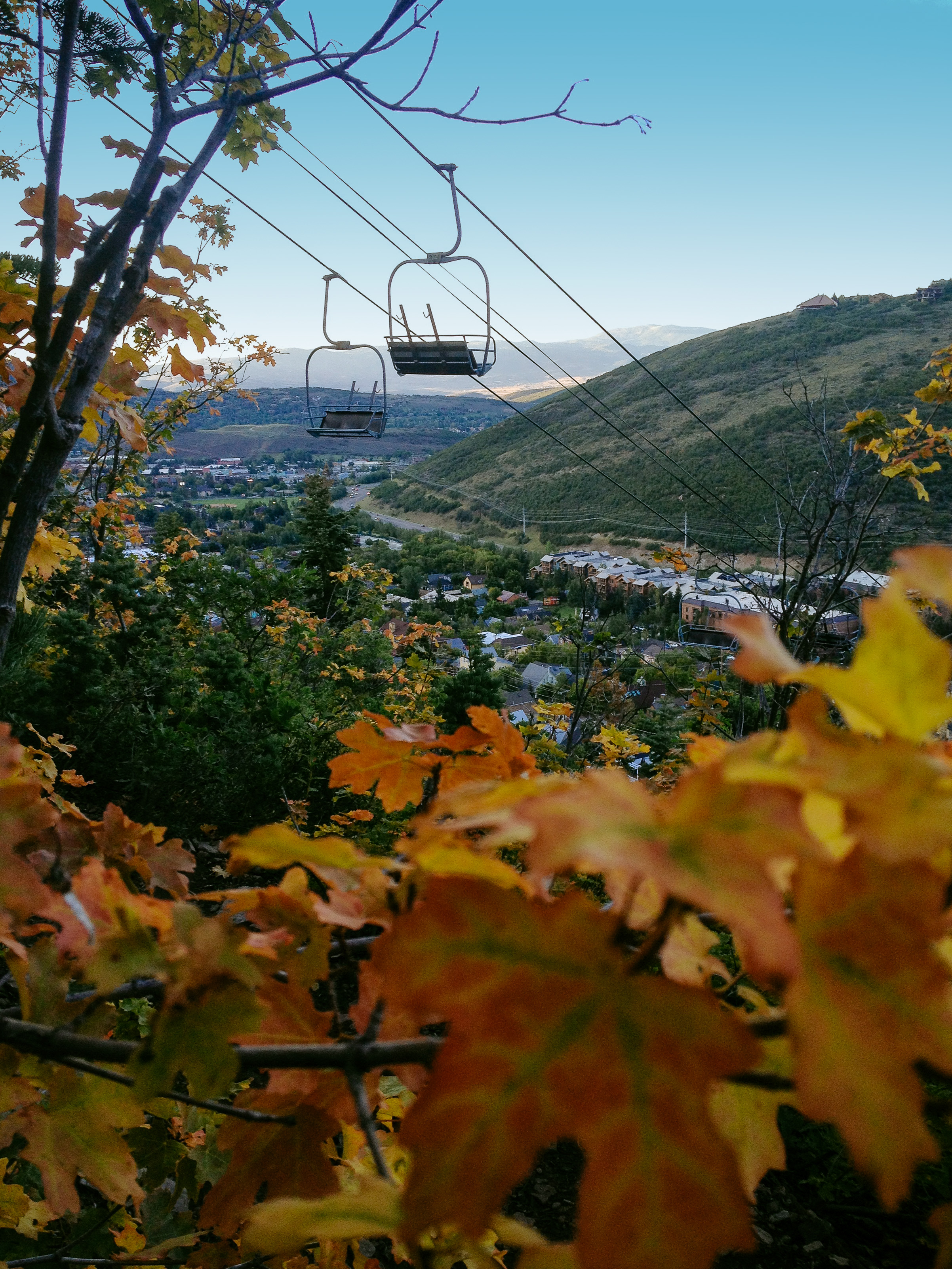 Town Lift Park City Fall