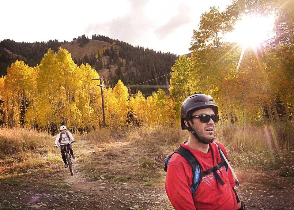 Park City Fall Mountain Biking