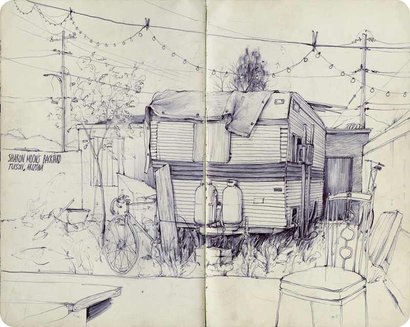 Pat Perry's Sketchbook