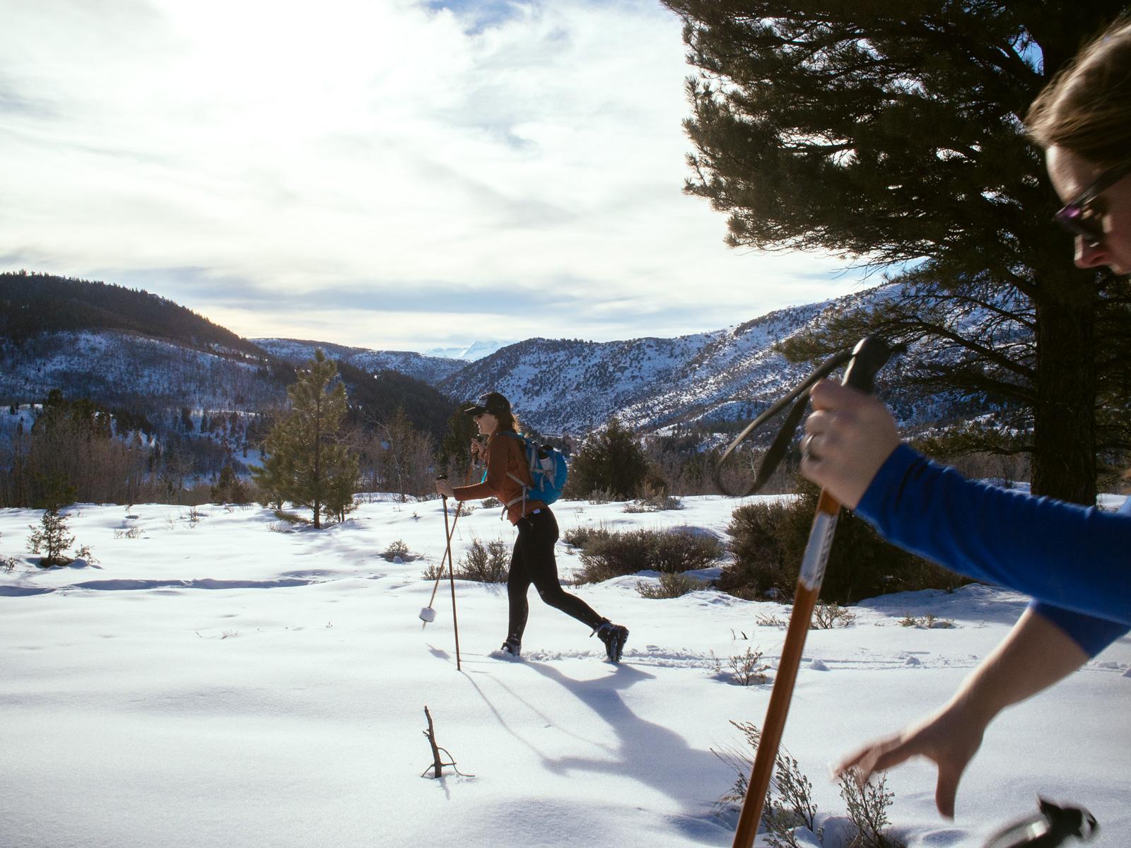 Timpanogos Back Drop - Uinta XC Ski