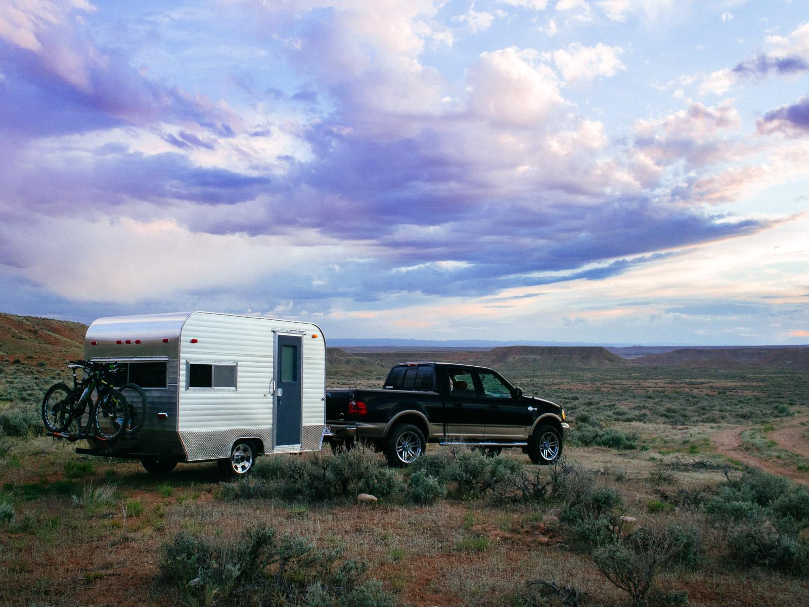 Bell Vintage Camper Adventure Rig