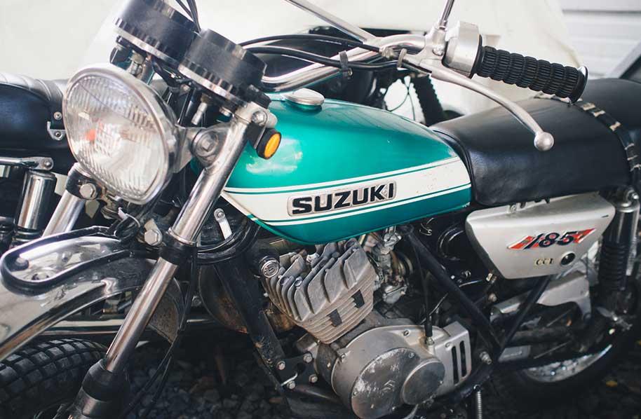 Suzuki Scrambler