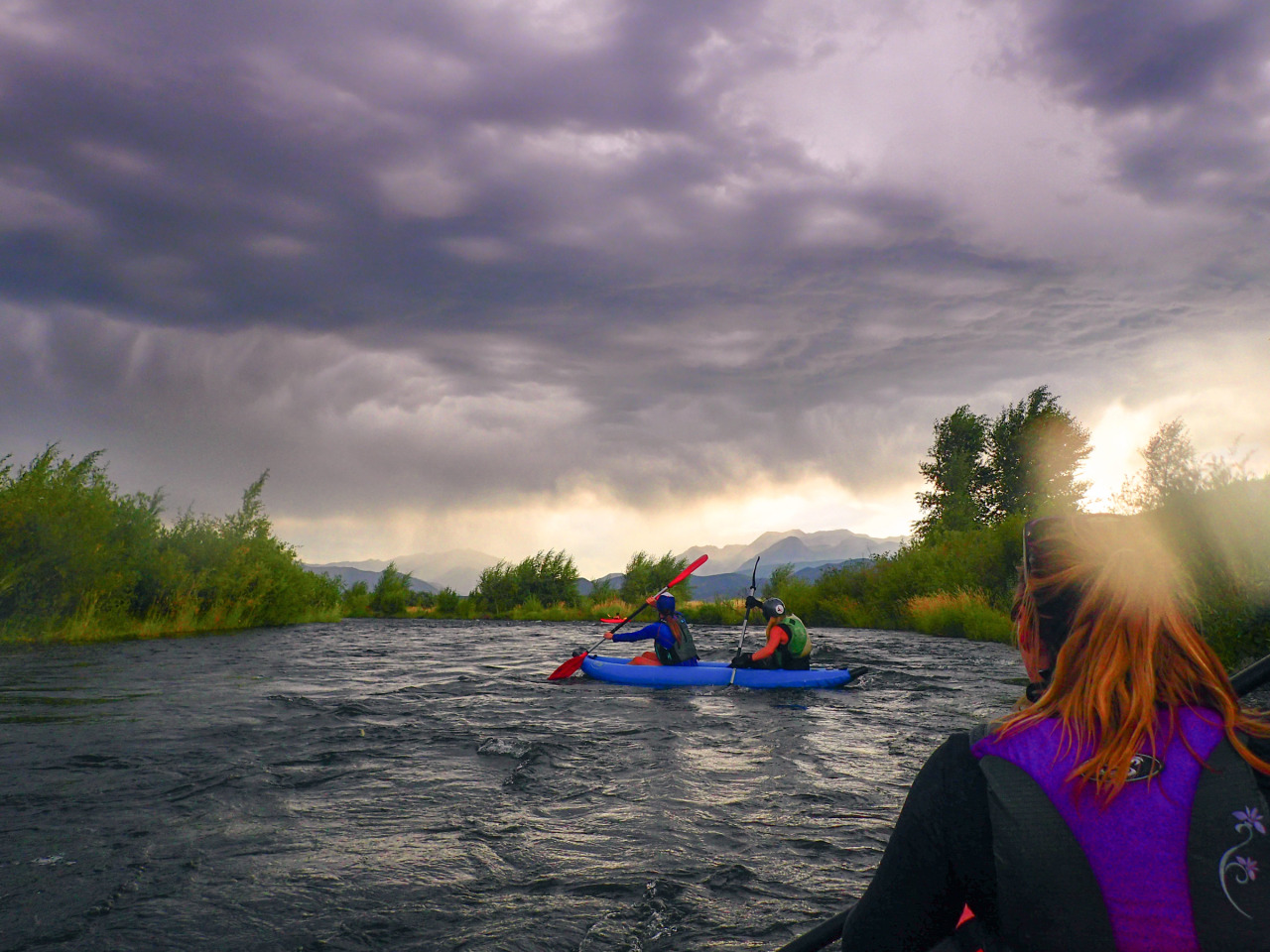 Middle Provo Kayak