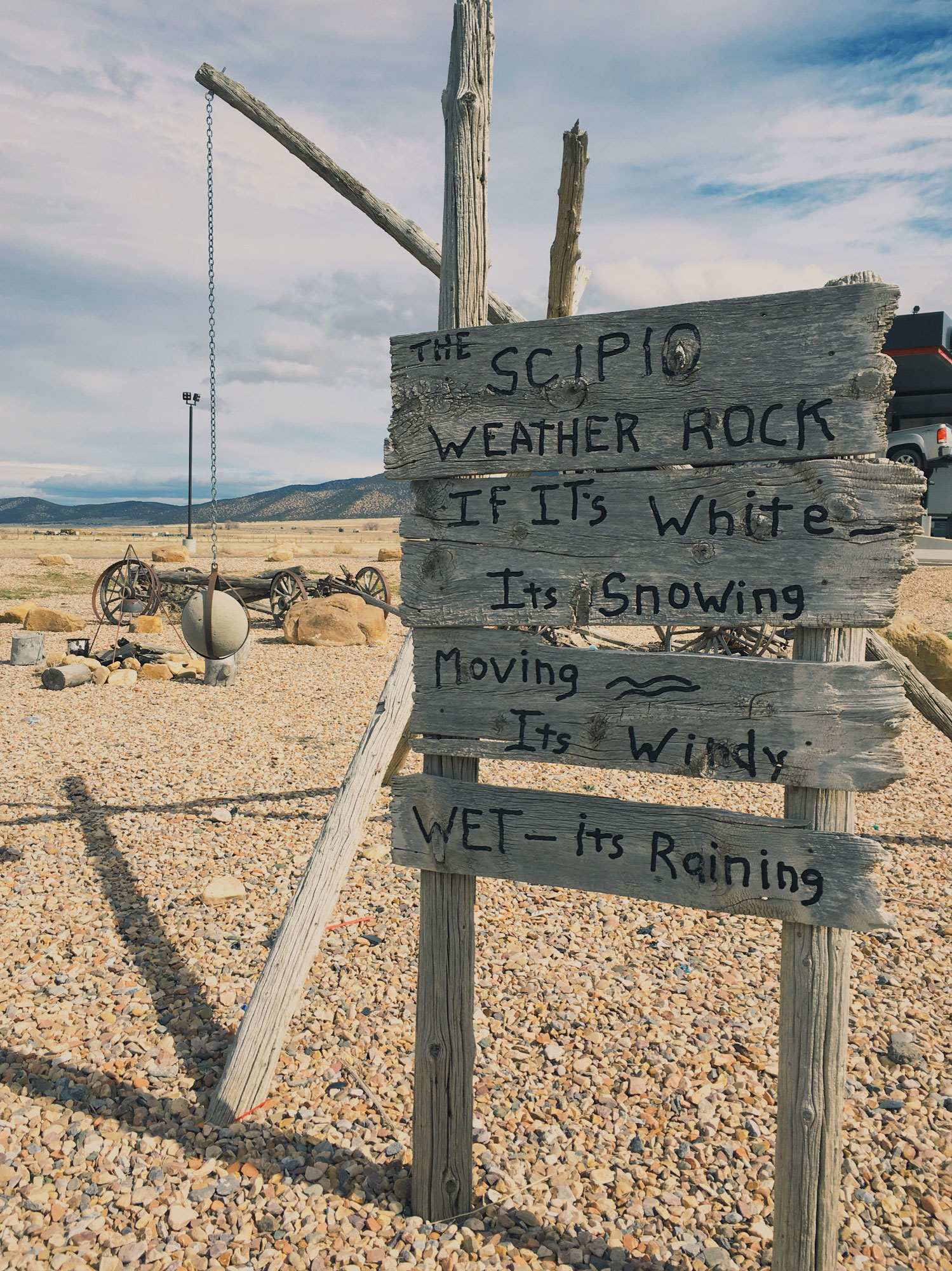 Scipio Weather Station